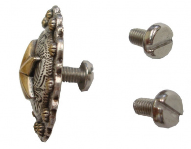 XS-0054-8MM NP Silver Chicago Screw 8mm