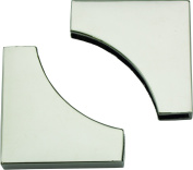 Springfield Leather Company's Pair of Contemporary Decorative Corners