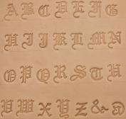 1.9cm Old English Alphabet Stamp Set