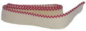 Bookbinders Workshop Headbands - 100% Medium Cotton - Red/White