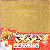 Metallic Chiyogami Paper Gold and Silver