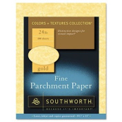 Southworth Parchment Specialty Paper , Gold