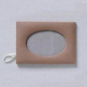 6 Paper Mache Oval Photo Frames