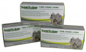 Sculpey Super Sculpturing Compound Firm Grey Clay Pack of 3
