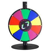41cm Tabletop Colour Dry Erase Spinning Prize Wheel