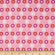 Cotton & Steel Mustang Daisies Pink Fabric