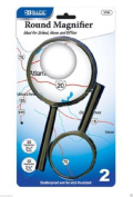 wennow ROUND Handheld Magnifying Glass With Reading Light Crafts Hobby Sewing Jewellery