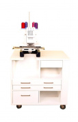 Arrow Ava Embroidery Cabinet Fits Janome Or Elna Machines