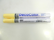 Two (2) Deco Colour Marvy Uchida Broad Line Opaque Paint Marker