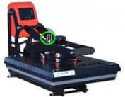 Hover Auto Open Heat Press 15x15