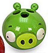 "Angry Birds ""Burst"" Pig Toothbrush Holder"