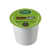 Green Mountain Coffee Half-Caff, Regular/Med Roast K-Cup Portion Pack for Keurig K-Cup Brewers, 72 Count