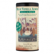 Vanilla Almond Tea by The Republic of Tea - 50 tea bags, without Caffeine