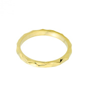 Solid 10k Yellow Gold Spike Band Baby Ring