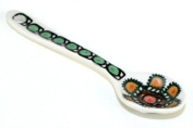 Polish Pottery Golden Pastures Sugar Spoon