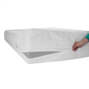 Zen Master Bed Bug Dust Mite Cotton Mattress Protector, Full