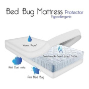 Remedy Bed Bug Dust Mite Cotton Mattress Protector, King