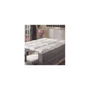 Super Snooze 13cm 230 Thread Count Baffled Featherbed Set