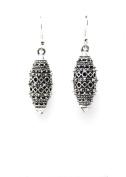 . Fashion Tibetan Silver Hollow Dangle Earring Set / AZERVI017-ASL