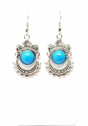 . Fashion Tibetan Silver Dangle Earring Set / AZERVI018-ABL