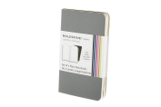 Moleskine Volant Notebook (Set of 2 ), Extra Small, Plain, Slate Grey, Payne's Grey, Soft Cover
