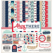 Carta Bella Paper Company CBAT29016 Ahoy There Collection Kits Scrapbook