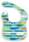 Bumkins Waterproof Starter Bib, Blue Crocs