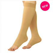 Maternity Compression Socks - Pregnancy Stockings & Leggings Knee High Open Toe