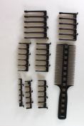 CombPal Scissor Clipper Over Comb Haircutting Tool Kit