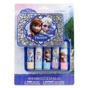 Disney Frozen 5 pk Lip Balm in Plastic Case