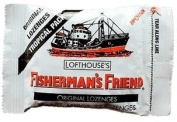 12 Packs of Fisherman's Friend Sugar Free Mint Cough Suppressant Lozenges, 40-count 25g.