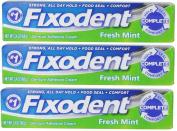 Fixodent Complete Fresh Mint Denture Adhesive Cream 70ml