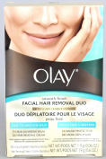 Olay Smooth Finish Facial Hair Removal Duo Kit, Fine to Medium Hair 1 Kit