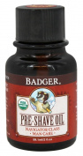 Badger Man Care Pre-Shave Oil, 60ml bottle