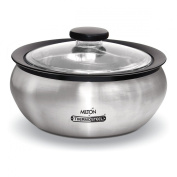 Milton Thermo Stainless Steel Insulated Casserole Keep Hot / Cold Serving Dish - 1.5 Litre