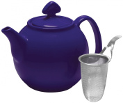 Chantal Tea for 4-Teapot with Stainless Steel Infuser, 1.4l Capacity, Indigo Blue