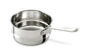 All-Clad 4703-ST-2 Stainless Steel Dishwasher Safe 2.8l Universal Steamer with 2 Loops / Cookware, Silver