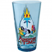 Cartoon Network Adventure Time Movie Drinking Pint Glass