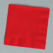 100 gorgeous Red beverage/cocktail napkins for wedding/party/event, 2ply, disposable, 13cm x 13cm , Made in USA