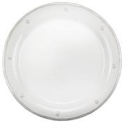 """Juliska """"Berry and Thread"""" 23cm Round Dessert/Salad Plate, White"""