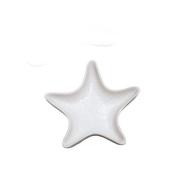 Elegant Coastal Nautical White Starfish 17cm Serving Plate Andrea by Sadek