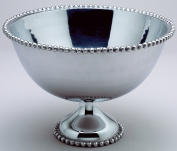 Huge 41cm Beaded Aluminium Punch Bowl by KINDWER