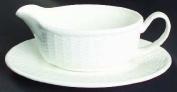 Nantucket Basket Wedgewood Fine Bone China Gravy Boat