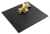 Aps Paderno World Cuisine 10 Square Inch Natural Slate Tray