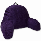 Lalabe Microsuede Bedrest Pillow - Purple