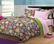 Boho Garden Ultra Soft Microfiber Girls Teen Bedding Comforter Set