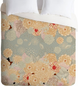 DENY Designs Iveta Abolina Creme De La Creme Lightweight Duvet Cover, King
