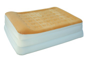 AirCloud MAB-402 Magestic 48cm High Butterscotch French Vanilla Inflatable Air Bed, Queen