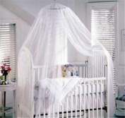 Baby Mosquito Net Baby Toddler Bed Crib Canopy Netting White