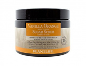 Vanilla Orange Face & Body Sugar Scrub - 100% Natural, 410ml